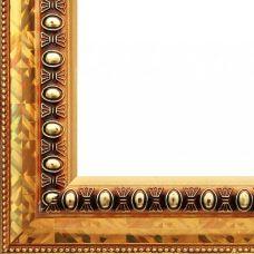 Багетная рама Elena (золотой), 30x40, Белоснежка