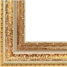 Багетная рама Karen (золотой), 40x50, Белоснежка