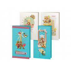Набор для создания 4-х открыток Грация, Белоснежка