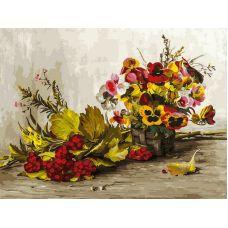 Живопись на холсте Осень, 30x40, Белоснежка
