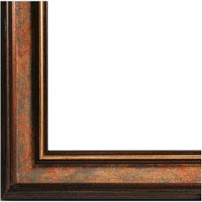 Багетная рама Fiona (коричневый+золотой), 30x40, Белоснежка