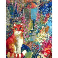 Живопись по номерам В городском саду, 40x50, Белоснежка