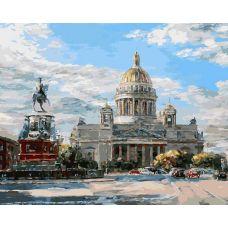 Живопись по номерам Исаакиевская площадь, 40x50, Белоснежка