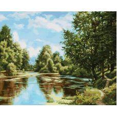 Картина по номерам В родном краю, 40x50, Белоснежка