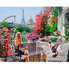 Живопись по номерам Парижанки, 40x50, Белоснежка