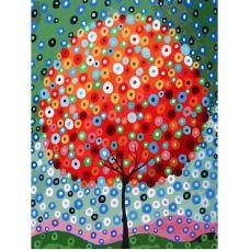 Живопись по номерам Денежное дерево, 30x40, Белоснежка