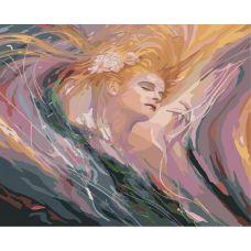 Живопись по номерам Необузданная красота, 40x50, Белоснежка