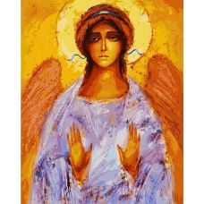 Живопись по номерам Ангел, 40x50, Белоснежка