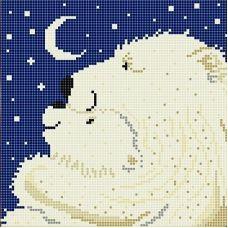 Канва с рисунком Большая медведица, 20x20, Божья коровка