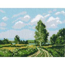 Рисунок на канве Русское поле, 16x20, Матренин посад