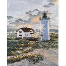 Набор для вышивания крестом Береговой маяк, 26x20, Овен