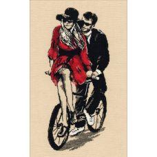 Набор для вышивания Романтика, 14x32, Овен