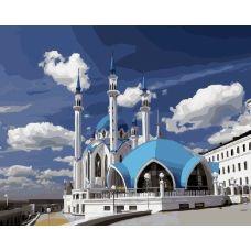 Живопись по номерам Мечеть Кул Шариф в Казани, 40x50, Paintboy, GX21165