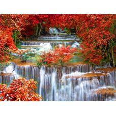 Живопись на холсте Осенний водопад, 40x50, Paintboy, GX25802