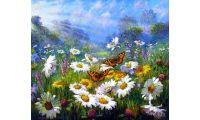 Живопись на холсте На лугу, 40x50, Paintboy, GX34089