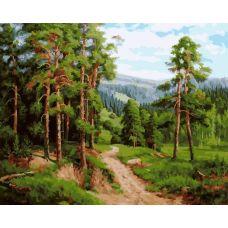 Живопись на холсте Сосновый бор, 40x50, Paintboy, GX21295
