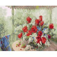 Живопись по номерам Полевой букет, 40x50, Paintboy, GX24487