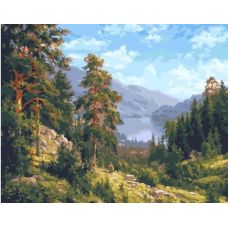 Живопись по номерам Родимый край, 40x50, Paintboy, GX25629