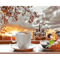 Живопись по номерам Романтический завтрак, 40x50, Paintboy, GX27356