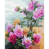 Живопись по номерам Пионы, 40x50, Paintboy, GX36480