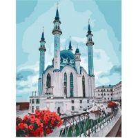 Живопись на холсте Главная мечеть Казани, 40x50, Paintboy, GX36738