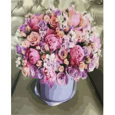 Живопись на холсте Цветочная композиция, 40x50, Paintboy, GX36203