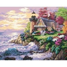 Живопись на холсте Маяк, 40x50, Paintboy, G174