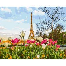Живопись по номерам Весенний Париж, 40x50, Paintboy, GX3258