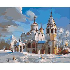 Живопись по номерам Суздаль. Покровский собор, 40x50, Paintboy, GX3537