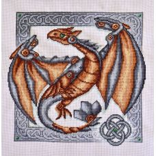 Набор для вышивания крестом Хранитель легенд, 26x26, Палитра