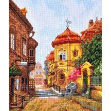 Набор для вышивания крестом Дыхание старины, 21x27, Палитра