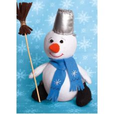 Набор для шитья Снеговик, 18,5 ,Перловка