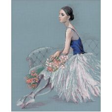 Вышивка крестиком Балерина, 40x50, Риолис Премиум