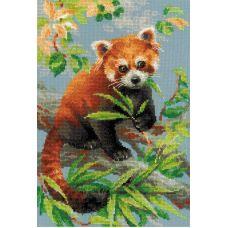 Набор для вышивания Красная панда, 21x30, Риолис Сотвори сама