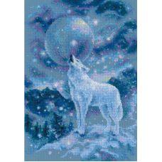 Набор для вышивания крестом Ледяной ветер, 21x30, Риолис, Сотвори сама