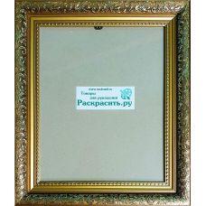 Рама со стеклом 22х28 (2228-001), Раскрасить.ру