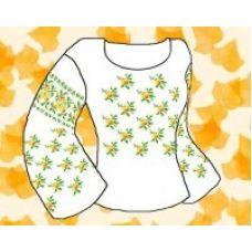 Набор элементов для вышивания на сорочке, водорастворимый флизелин КБФ-02, Каролинка