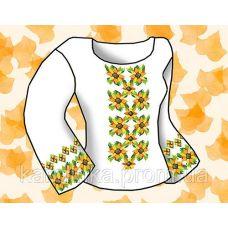 Набор элементов для вышивания на сорочке, водорастворимый флизелин КБФ-14, Каролинка