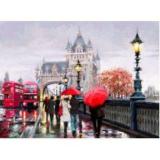 Живопись по номерам Тауэрский мост, 40x50, Paintboy, GX3096