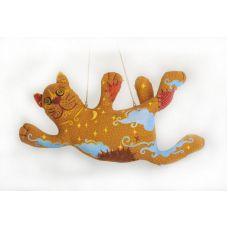 Набор для шитья Кот - ловец снов, 27см, Перловка