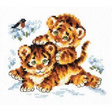 Набор для вышивания Безмятежное детство, 14х12, Чудесная игла