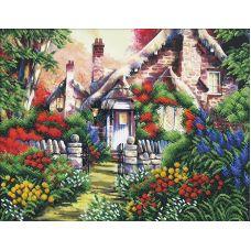 Набор для вышивания бисером Сказочный пейзаж- 4, 42x33,5, Магия канвы