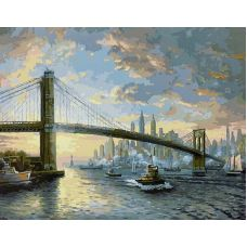 Живопись по номерам Дух Нью-Йорка, 40x50, Paintboy, GX25269