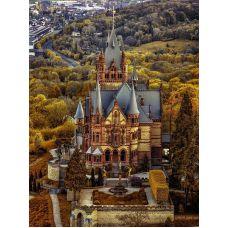 Живопись по номерам Замок Драхенбург, Германия, 40x50, Paintboy, GX31564