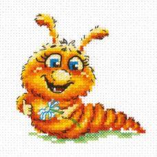 Набор для вышивания Буду бабочкой, 9х9, Чудесная игла