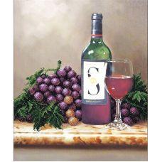 Набор для вышивания бисером Молодое вино, 30,5x37, Магия канвы