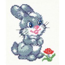 Набор для вышивания Зайчонок, 13х10, Чудесная игла