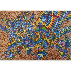 Набор для вышивания Кот Баюн, 26x37, Вышиваем бисером