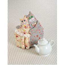 Набор для шитья Кошки, 21см, Перловка