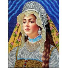 Набор для вышивания Сударыня, 26x37, Вышиваем бисером